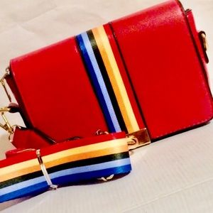 Handbags - 🌈Red Rainbow crossbody Bag